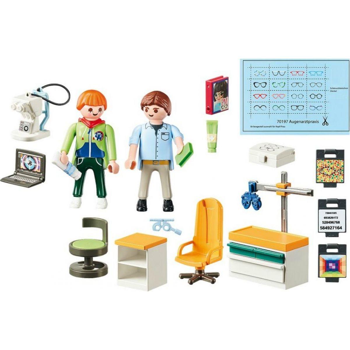 PLAYMOBIL® 70197 Očný lekár