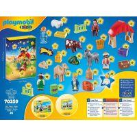PLAYMOBIL® 70259 Adventní kalendář 1.2.3 Jesličky 4