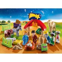 PLAYMOBIL® 70259 Adventní kalendář 1.2.3 Jesličky 3