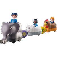 PLAYMOBIL® 70405 Môj ťahací vláčik so zvieratkami