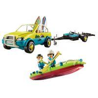 PLAYMOBIL® 70436 Plážové auto s lodním přívěsem