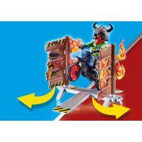 PLAYMOBIL® 70553 Kaskadérská show Motorka s ohnivou stěnou 5