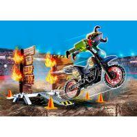 PLAYMOBIL® 70553 Kaskadérská show Motorka s ohnivou stěnou 3