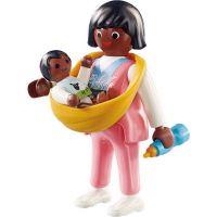 PLAYMOBIL® 70563 Maminka s nosítkem na dítě