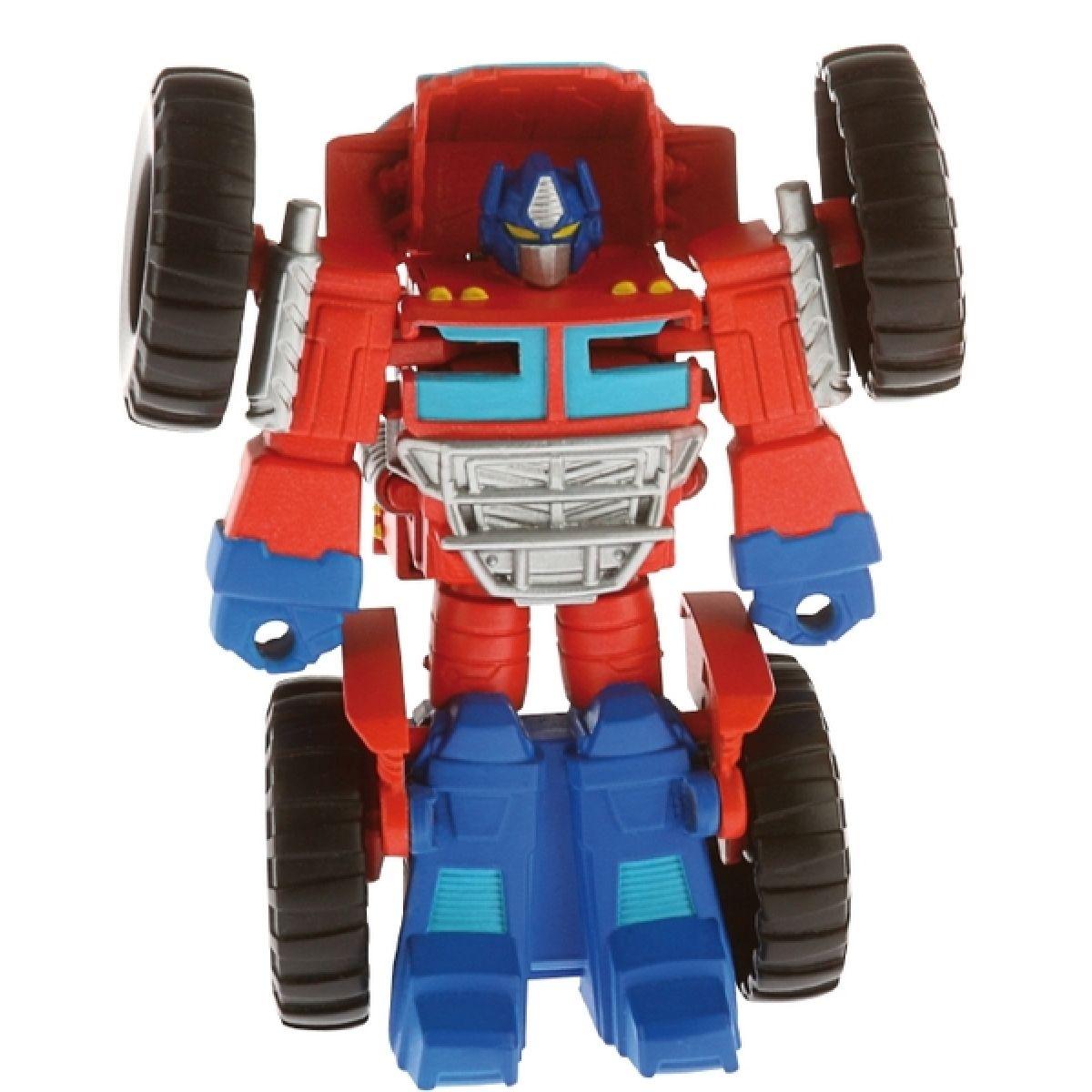 Transformers Rescude Dino-Bots figurka s dinosaurem - Optimus Prime
