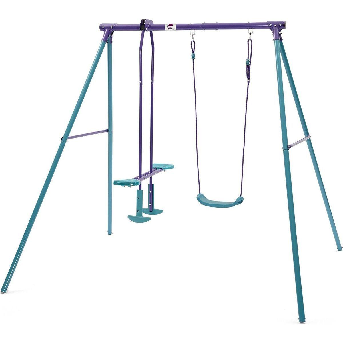Plum Products Dětská kovová houpačka 2v1