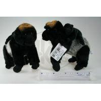 Plyšová gorila a mládě 24 cm 2