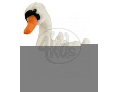 Plyšová labuť 34 cm