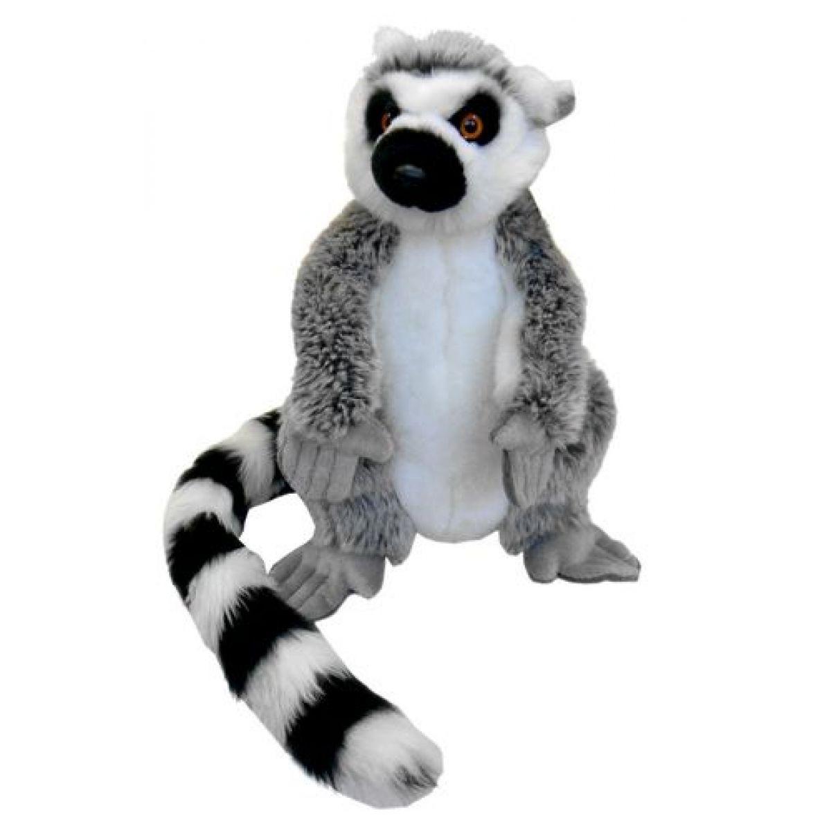 Plyš lemur 28 cm