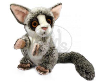 Plyšový lemur sedící 18 cm