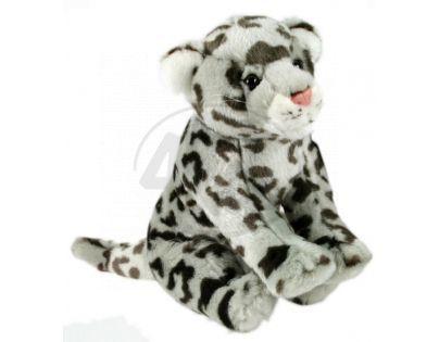 Plyšový leopard sněžný 30 cm