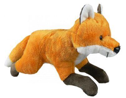 Plyšová liška běžící 21 cm