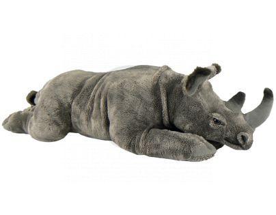 Plyšový nosorožec ležící 55 cm
