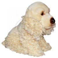 Plyšový pes Kokršpaněl 27 x 22 cm