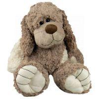 Plyšový pes sedící 35 cm 4