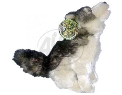 Plyšový pes vyjící