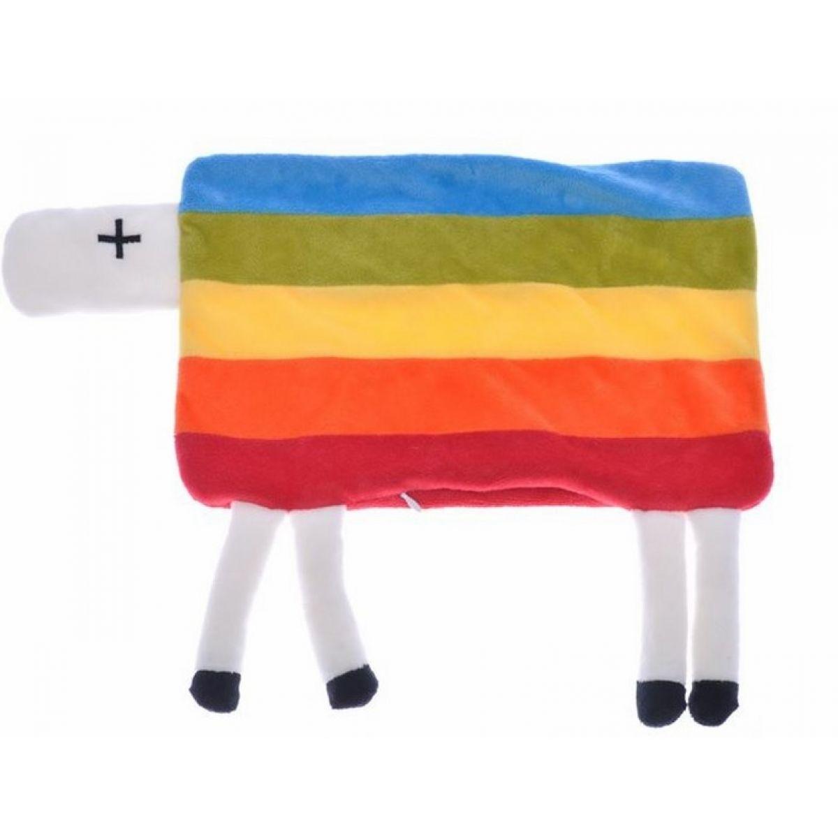 Plyšový polštářek ovečka s nožičkami