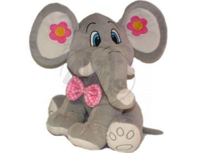 Plyšový slon 68cm - Šedý