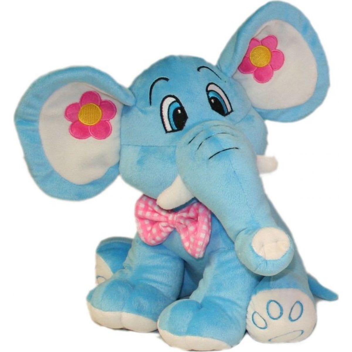 Plyšový slon 68cm - Modrý