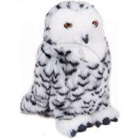 Plyšová sova sněžná 25 cm