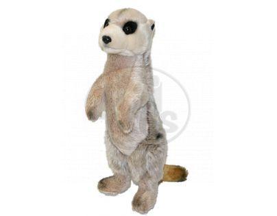 Plyšová surikata stojící 33 cm