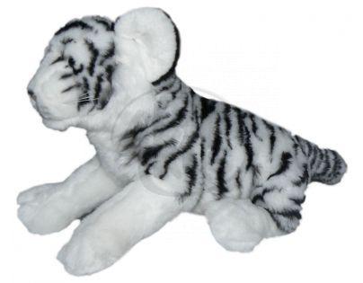 Plyšový tygr bílý 32 cm