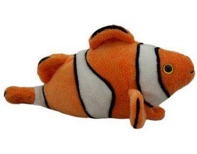 Plyšová ryba klaun 18 cm