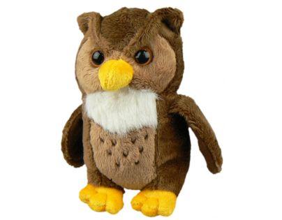 Plyšová sova 14 cm