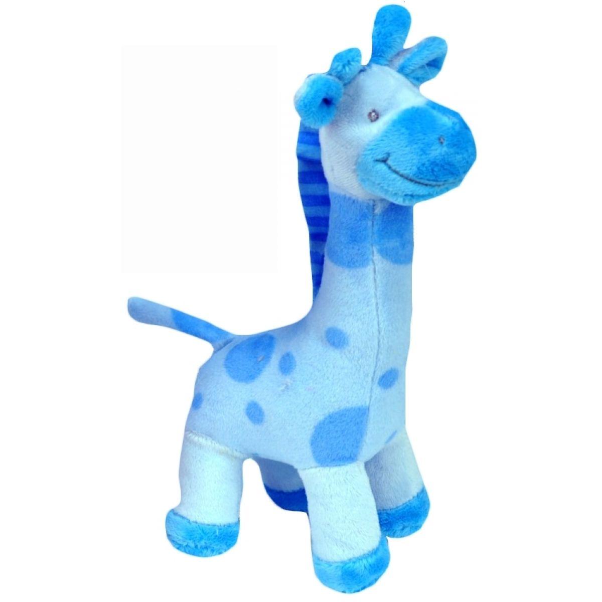 Plyšová žirafa stojící 24 cm - Modrá