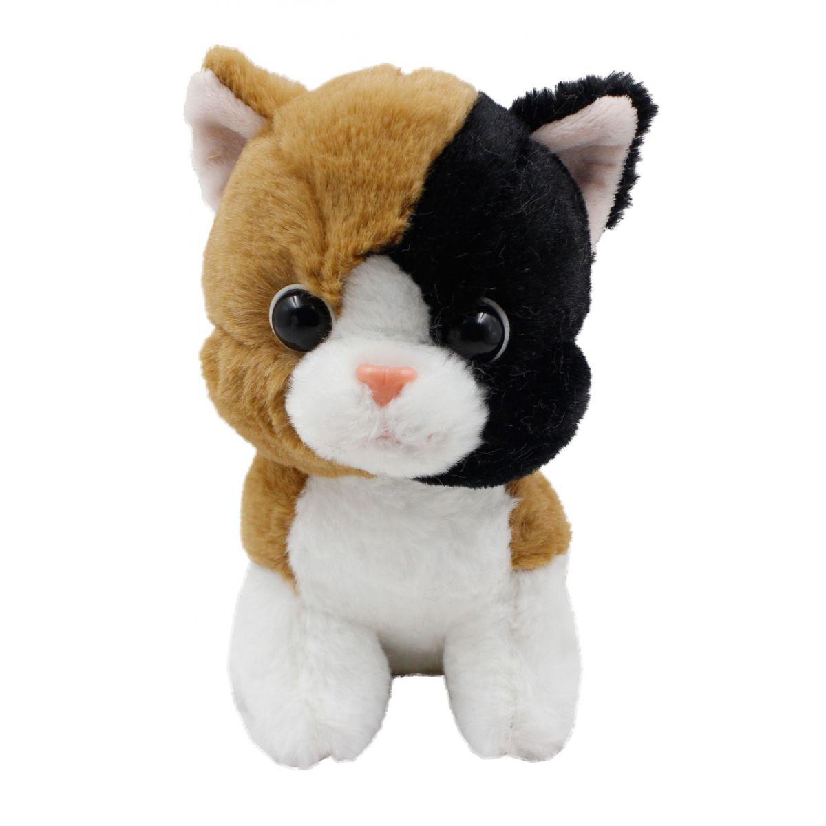 EP Line Plyšové zvířátko Hnědá kočička 17 cm