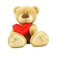 Plyšové zvířátko Medvídek se srdcem 25 cm
