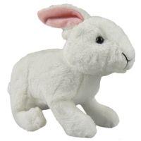 Plyšový králík 18 cm - Bílá
