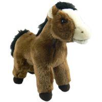 Plyšový Kůň 25cm - Černá hříva