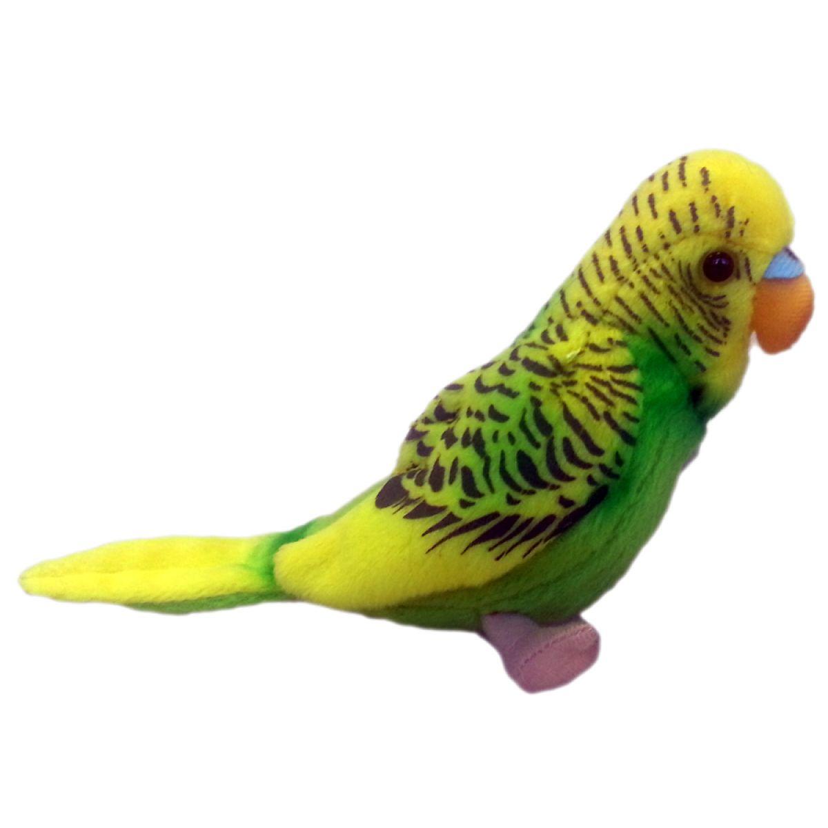Plyšový papoušek andulka 11 cm