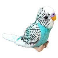 Plyšový papoušek andulka 11 cm 2