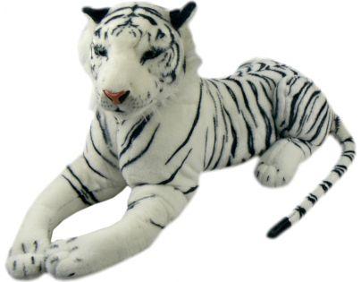 Plyšový Tygr bílý 54 cm
