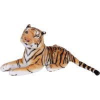 Plyšový tygr hnědý střední 57 cm