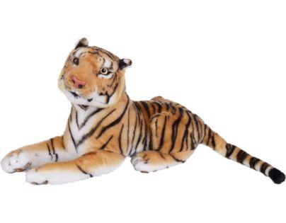 Plyšový tygr hnědý střední 38 cm