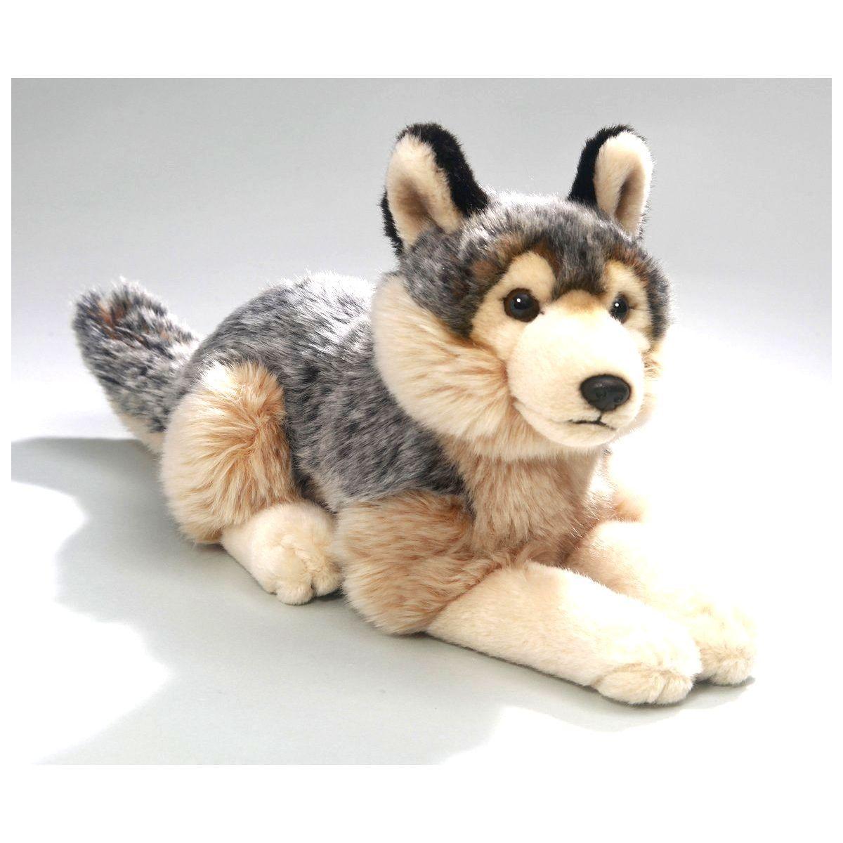 Plyšový vlk 40 cm