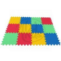 Malý Génius Pěnový koberec 16 mm Maxi 12 dílků pevný