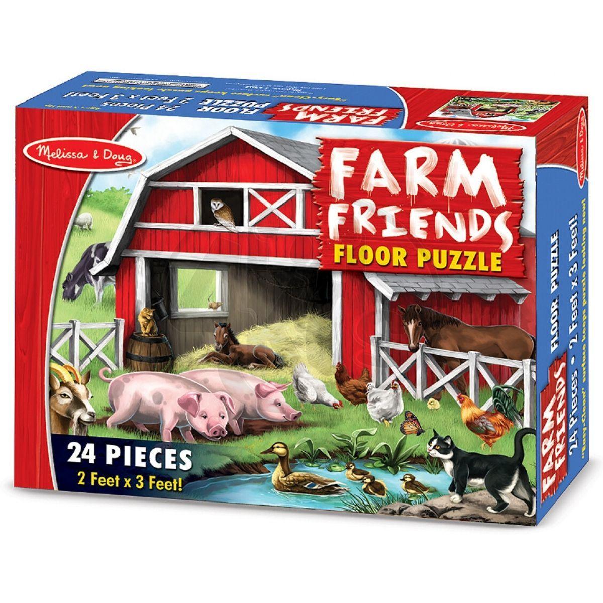 Melissa & Doug farma 24 dílků