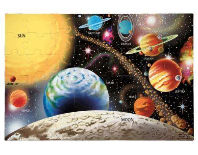 Melissa & Doug 62829 - Podlahové puzzle - vesmír, 48 dílků