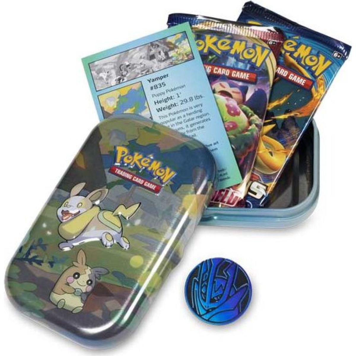 Pokémon TCG  Galar Pals Mini Tin