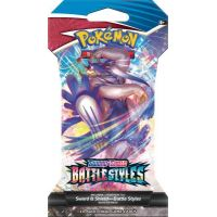 Pokémon TCG Sword & Shield Battle Styles Single Sleeved Booster Pack č.1