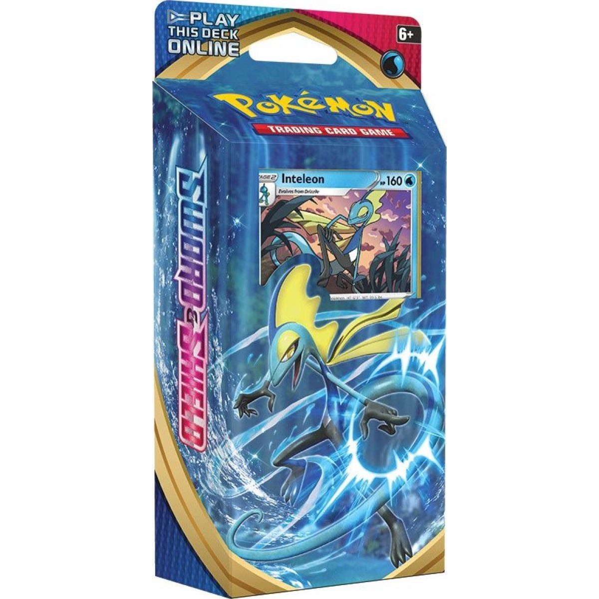 Pokémon TCG  Sword and Shield  PCD modré