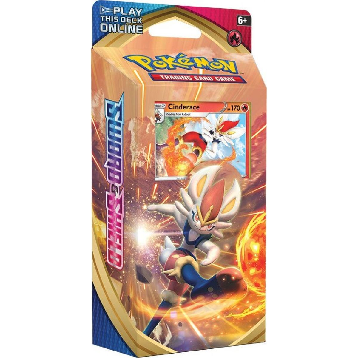 Pokémon TCG  Sword and Shield  PCD oranžové