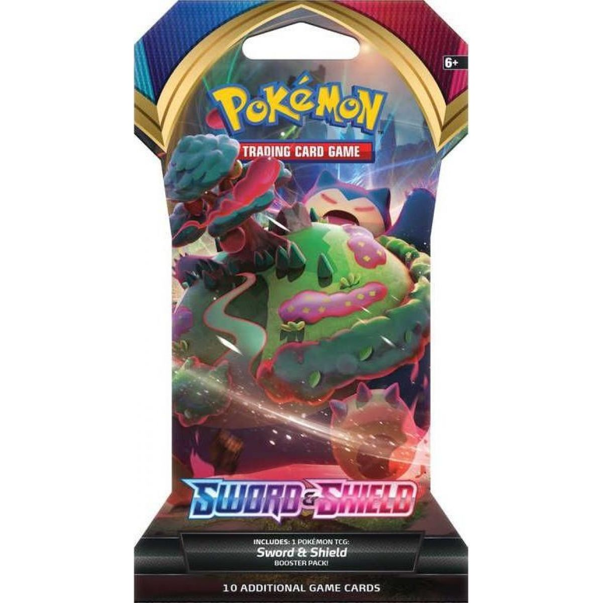 Pokémon TCG  Sword and Shield 1 Blister Booster č.2
