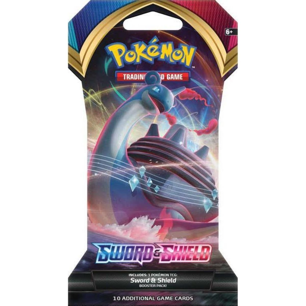 Pokémon TCG  Sword and Shield 1 Blister Booster č.3