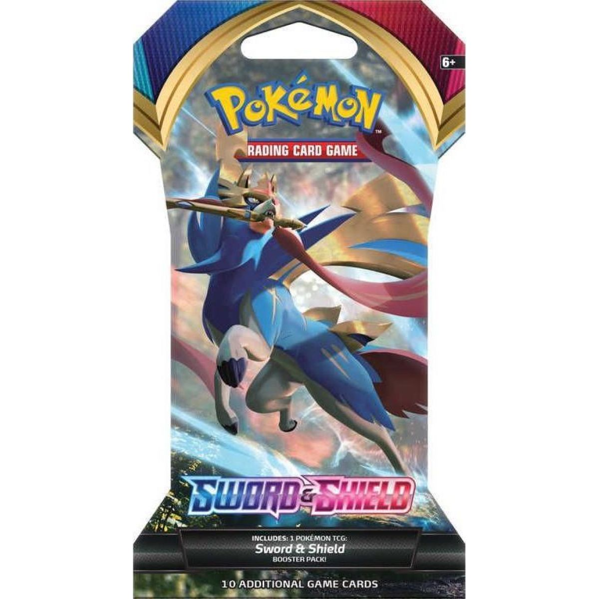 Pokémon TCG  Sword and Shield 1 Blister Booster č.4
