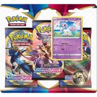 Pokémon TCG Sword and Shield 3 Blister Booster